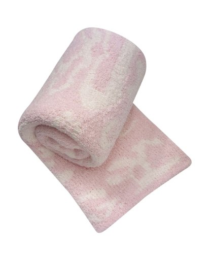 "Kashwere Baby Blanket Damask, 33"" x 40"", Pink"