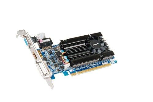 Gigabyte NVIDIA GT610 Grafikkarte (PCI-e, 1GB GDDR3 Speicher, HDMI, DVI, 1 GPU)