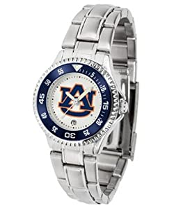 Auburn Tigers Ladies Stainless Steel Watch by SunTime