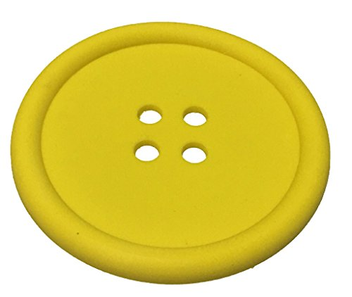 Coaster Yellow Silicone Unique Eye Catching Especially Design for Your Bar Kitchen and Patio Beautiful Light and Washable