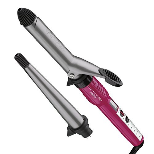 """Infiniti Pro By Conair Tourmaline Ceramic Combo Styler, 1"""" Curling Iron Plus Curling Wand front-605515"""