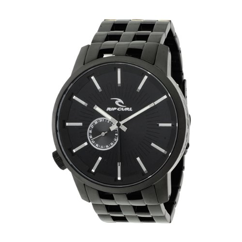 Rip Curl Men's a2221-MID Detroit Stainless Steel Midnight Black Watch
