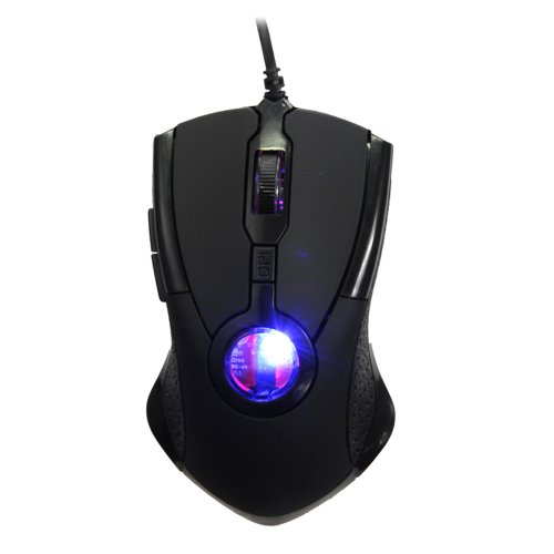 Zps Blue Led Light Usb Optical Wired Gaming Mouse Mice For Pc Laptop