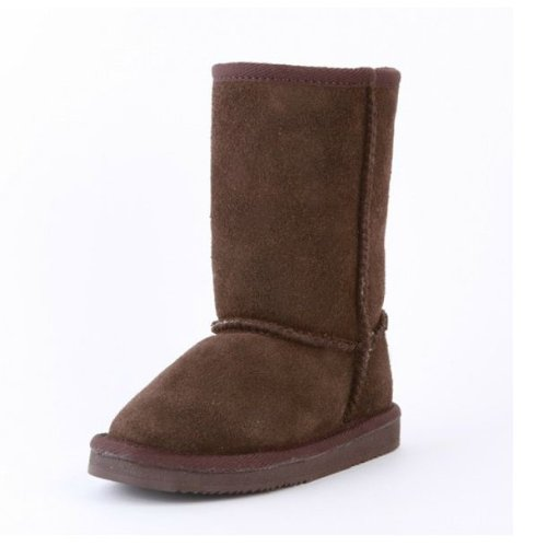 Reneeze K-ROSE-3 Mid-Calf Kid Winter Boot - Coffee, Size 4