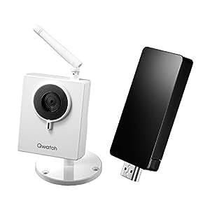 I-O DATA 130万画素/テレビ対応モデル ネットワークカメラ「Qwatch」 TS-WLCAM/V iPhone/Android/Windows対応