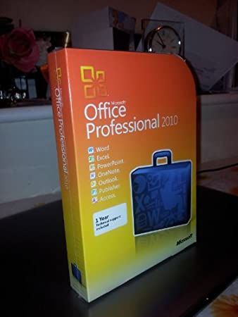 MICROSOFT OFFICE 2010 PROFESSIONAL COMPLETE SUITE