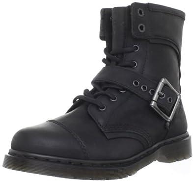 Dr. Martens Men's Triumph 1460 Boot,Black,7 UK (8 M US Men's)