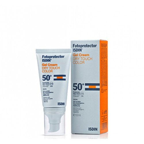 FOTOPROTECTOR ISDIN SPF-50 + TOUCH DRY GEL-CREMA 50 ML