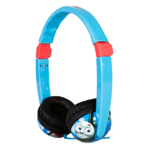 Thomas And Friends Kid Safe Headphones - Blue (19785)
