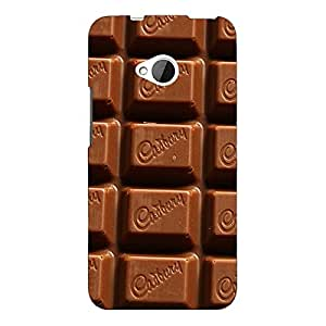 Jugaaduu Dairymilk Love Back Cover Case For HTC One M7