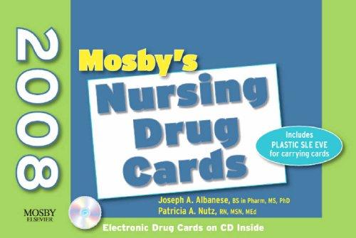 Mosby's 2008 Nursing Drug Cards, 18e
