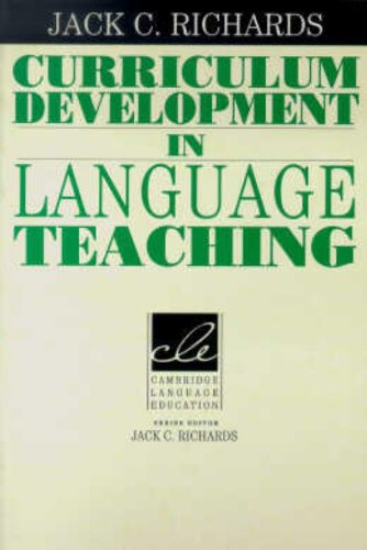 Curriculum Development in Language Teaching (Cambridge...