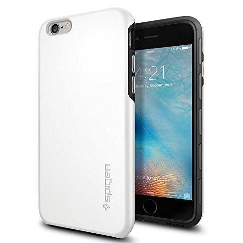 SpigeniPhone6s ケース / iPhone6 ケース シン・フィット ハイブリッド [ 落下 衝撃 吸収 ] アイフォン6s / 6 用 (ホワイト SGP11731)