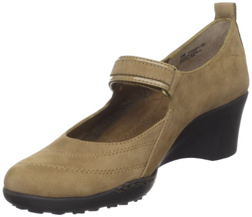 Aerosoles Women's Tornado Mary Jane Pump,Taupe Nubuck,7 M US