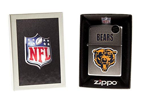 Zippo CI016669/205 Chicago Bears NFL Throwback Lighter (Chicago Bears Lighter compare prices)