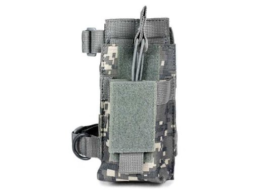 Vism By Ncstar Ar Single Mag Pouch With Stock Adapter, Digital Camo (Cvar1Ps2926D)