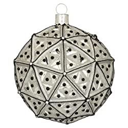 Waterford Times Square 2013 Masterpiece Ball Ornament Let There Be Peace