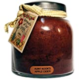 A Cheerful Giver Aunt Kook's Apple Cider Papa Jar Candle, 34-Ounce