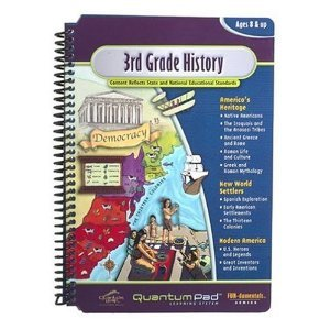 41AnULu4QaL Cheap  Quantum Pad Library: 3rd Grade LeapPad Book: History/Geography