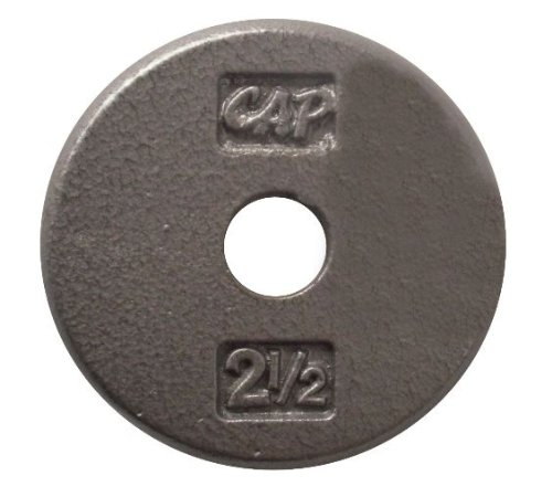 Comparamus Cap Barbell Standard Free Weight Plate 1