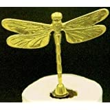 Mayer mill Brass Dragonfly paper towel holder ~ Mayer Mill Brass