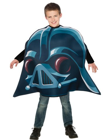 Rubies Costume Co Boys' Angry Birds Star Wars Darth Vader Angry Bird Costume