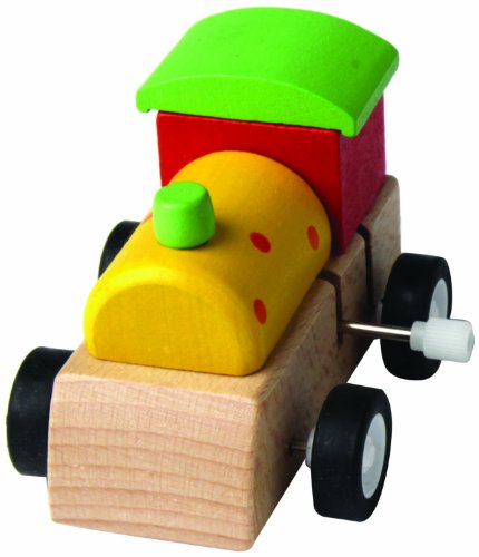 House of Marbles Wooden Clockwork Train - 1