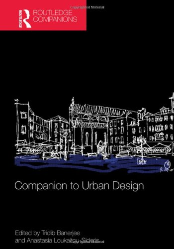 Companion to Urban Design (Routledge Companions)