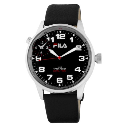 Fila Men's 404-01 3 Hands Dual Time Commuter Watch