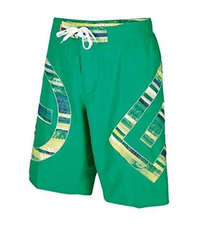 Chiemsee Short de Baño Baker Verde Cesped