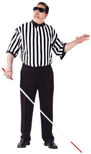 Costumes For All Occasions FW90165 Blind Referee Adult Plus