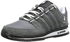 K-Swiss RINZLER SP 02283-037-M Herren Sneaker, Grau (Charcoal/Black/White), EU 44.5 (UK 10)
