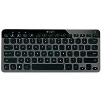 Logitech Bluetooth Illuminated Keyboard K810 for PCs, Tablets, Smartphones - Black