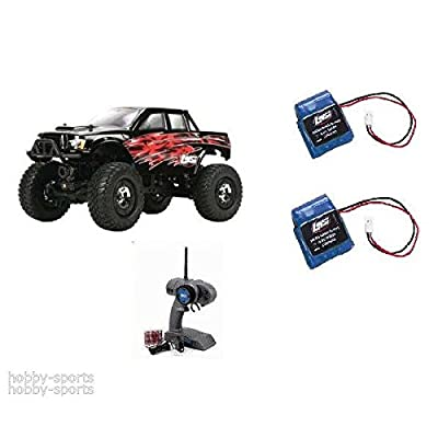 (Ship from USA) Team Losi 1/24 Micro 4X4 Trail Trekker RTR 2.4GHz FREE Battery/Charger LOSB0238