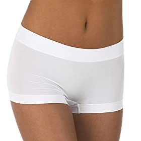 Gilligan & O'Malley® Ultimate Seamless Boy Shorts 2-pk. - Basic Colors