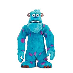 Spinmaster Monsters University Scare off Sulley Interactive Plush