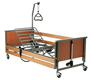 Invacare Medley Fully Adjustable Electric Homecare Hospital Bed