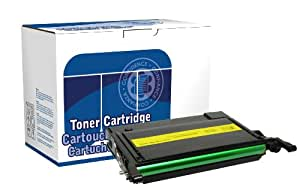 Dataproducts DPCCLP600Y Compatible Toner Cartridge Replacement for Samsung CLP-K600A (Yellow)