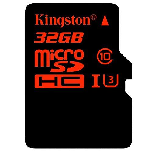 Kingston SDCA3/32GB microSDHC/SDXC 32GB Speicherkarte mit Adapter (UHS-I U3, 90R/80W)