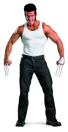 Disguise Marvel The Wolverine Adult Costume Kit with Accessories