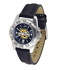 Marquette University Ladies Leather Band Sports Watch