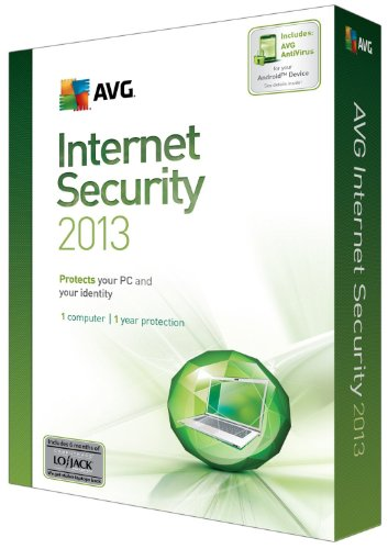AVG TECHNOLOGIES USA INC AVG INTERNET SECURITY 2013 1U 1Y