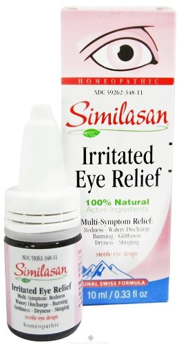 Similasan Irritated Eye Relief, Original Swiss Formula, 0.33