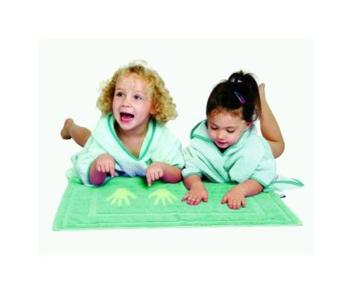 Cuddledry Cuddlemat Amazing Colour Change Bathmat for 0 to 30 Months Baby (Green)