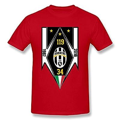 LTJTOT Men's Juventus T-shirt Red