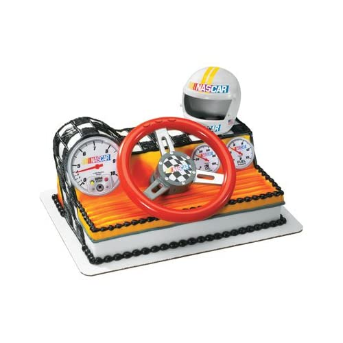 Nascar Racing Car Dashboard Cake Topper Kit