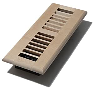 Decor grates wml310 u 3 inch by 10 inch wood floor for 6x12 wood floor register