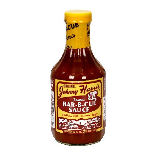 Johnny Harris, Sauce Bbq Reg, 13 OZ (Pack of 6)
