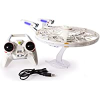 Air Hogs Star Trek U.S.S Enterprise 2.4GHz Remote Control Drone with Lights and Sounds (NCC-1701-A)