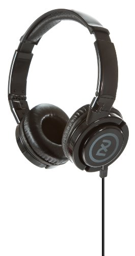 2Xl Phase Dj Headphone With Articulating Ear-Cups X6Ftfz-820 (Black)